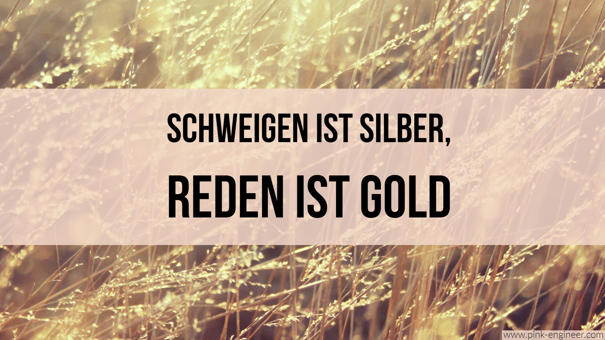 Elevator-Pitch: Schweigen ist Silber, Reden ist Gold