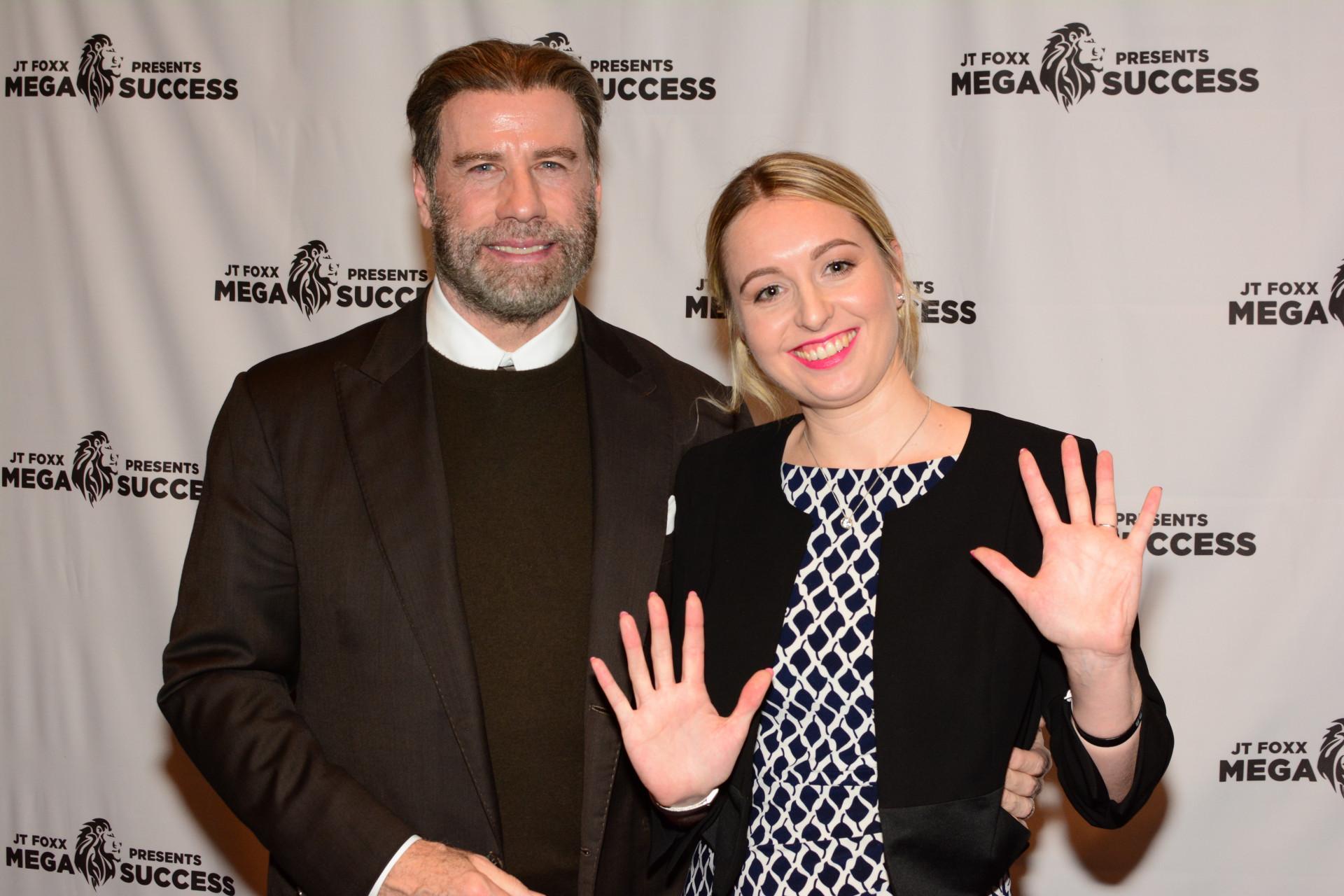 John Travolta & Nadia Redmer Hand Analysis